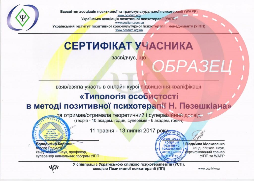 позитивная психотерапия, типология личности, онлайн курс, обучение психотерапевтов, доктор Пезешкиан, Украина