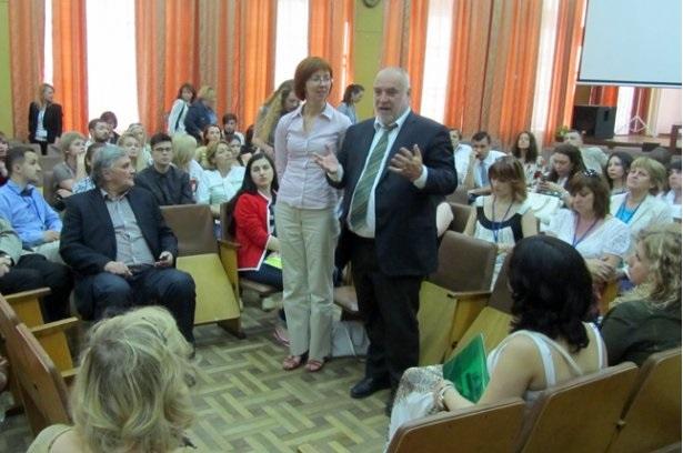 prezident Svіtovoї radi psikhoterapії, profesor Alfred Prіtts